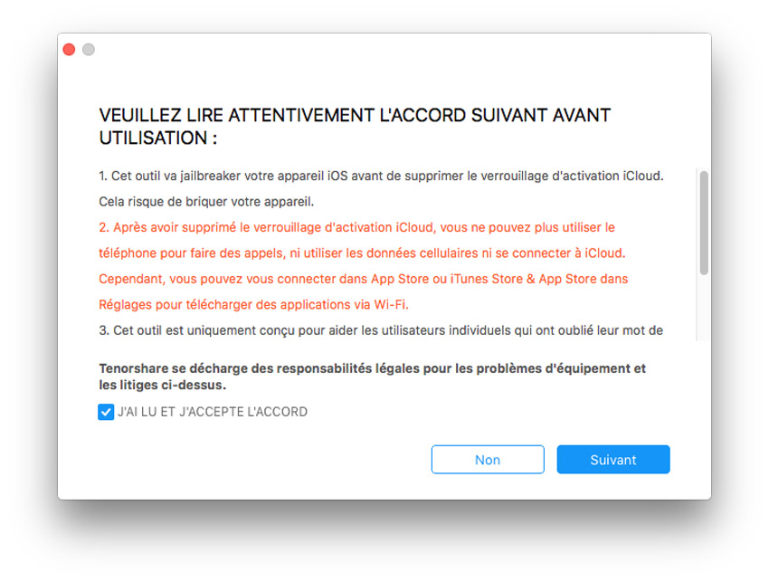 déverrouillage iCloud avec 4MeKey
