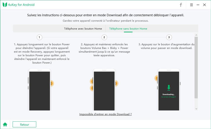guide entrer mode recovery pour supprimer frp