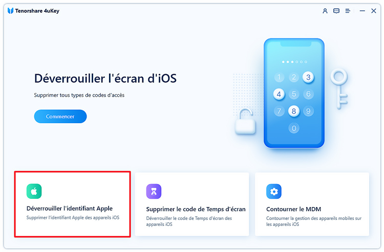 guide deverrouiller id apple