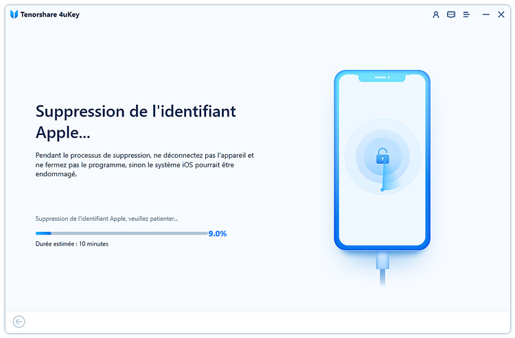 guide de suppression apple id