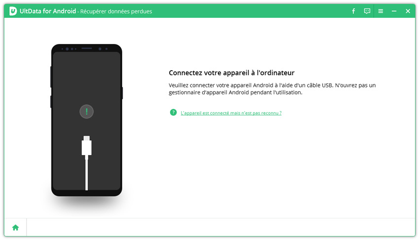 guide recuperer donnees android