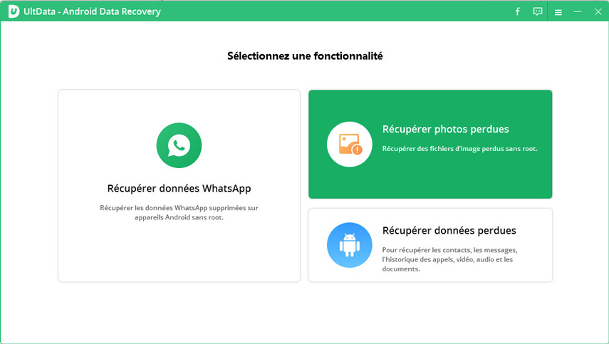 guide recuperer photos perdues android