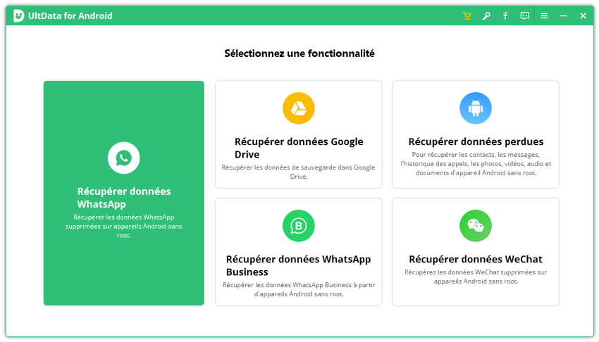 guide recuperation whatsapp android