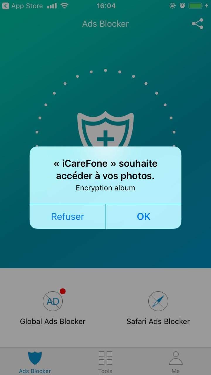guide installer icarefone app