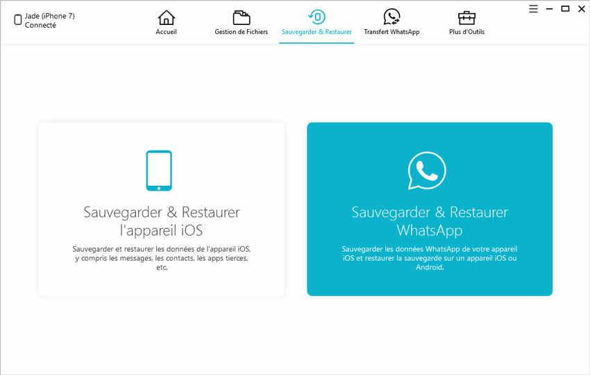 guide sauvegarder restaurer whatsapp