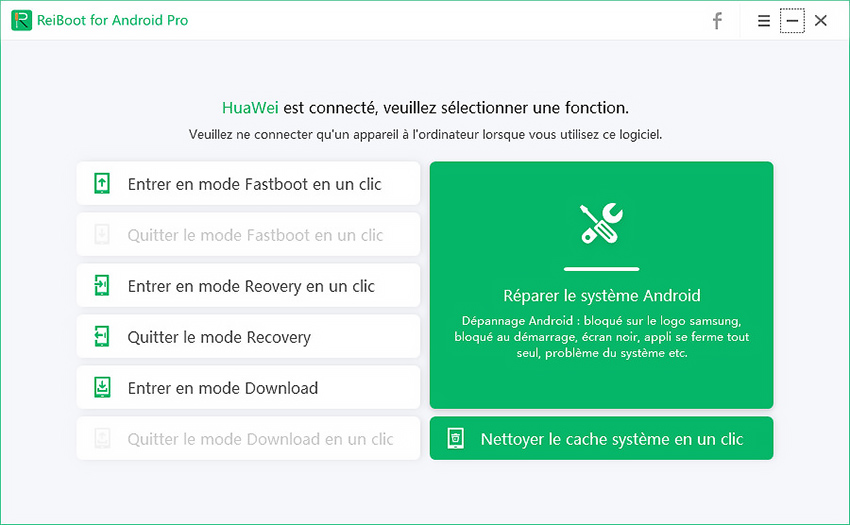guide entrer en mode fastboot pour nettoyer cache systeme
