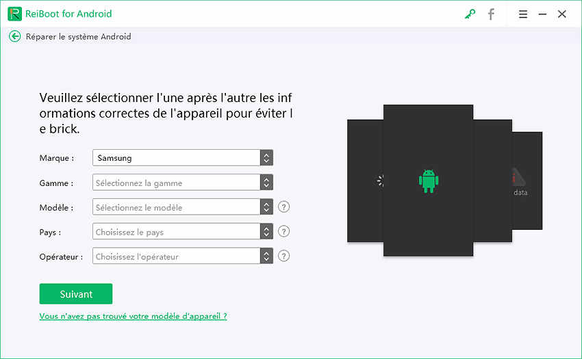 android systeme réparation guide