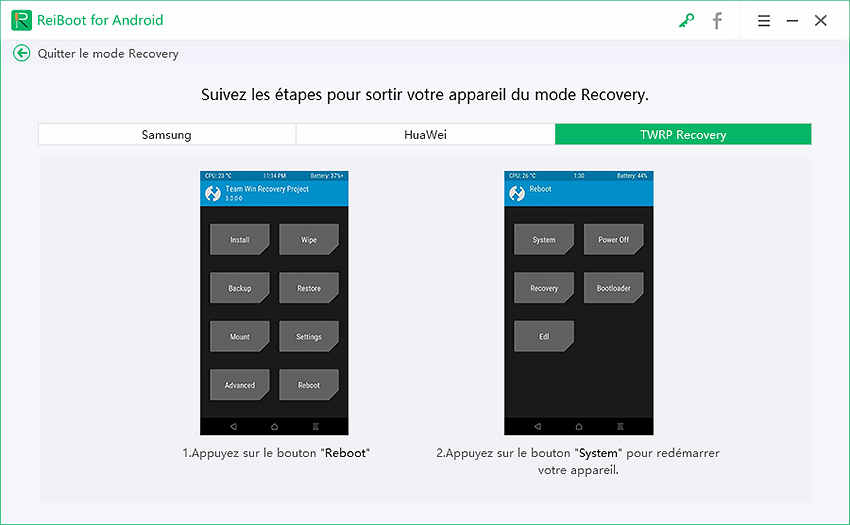 guide twrp Recovery