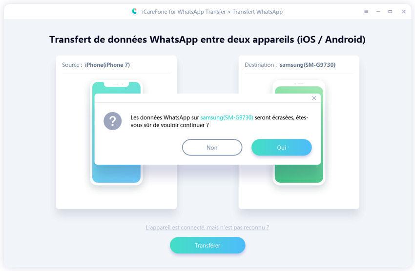 connecter whatsapp dans votre iphone avec ce guide iCareFone