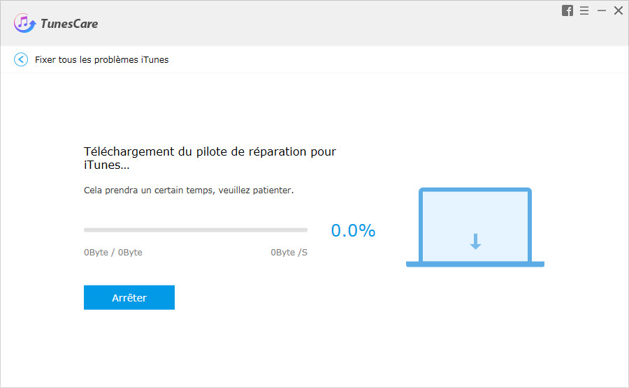guide reparation pilote itunes