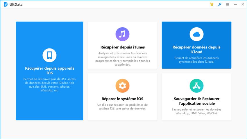 guide récupérer données iphone icloud