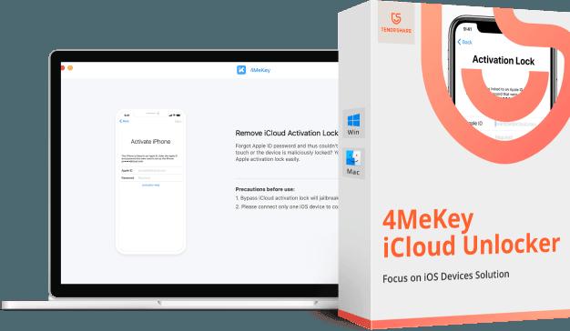 4MeKey desactiver verrouillage activation icloud