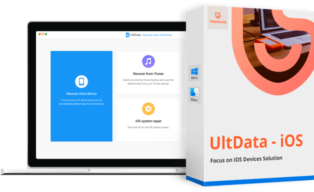 UltData - iOS Récupération de données iPhone