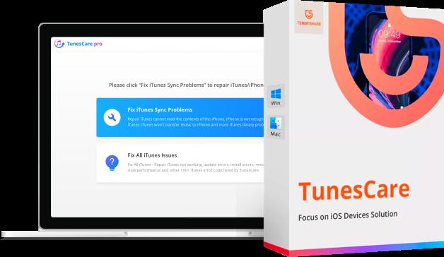 TunesCare réparer iTunes sur mac
